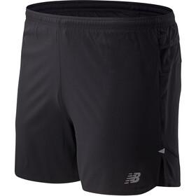 New Balance Impact Run Shorts 5'' Homme, black